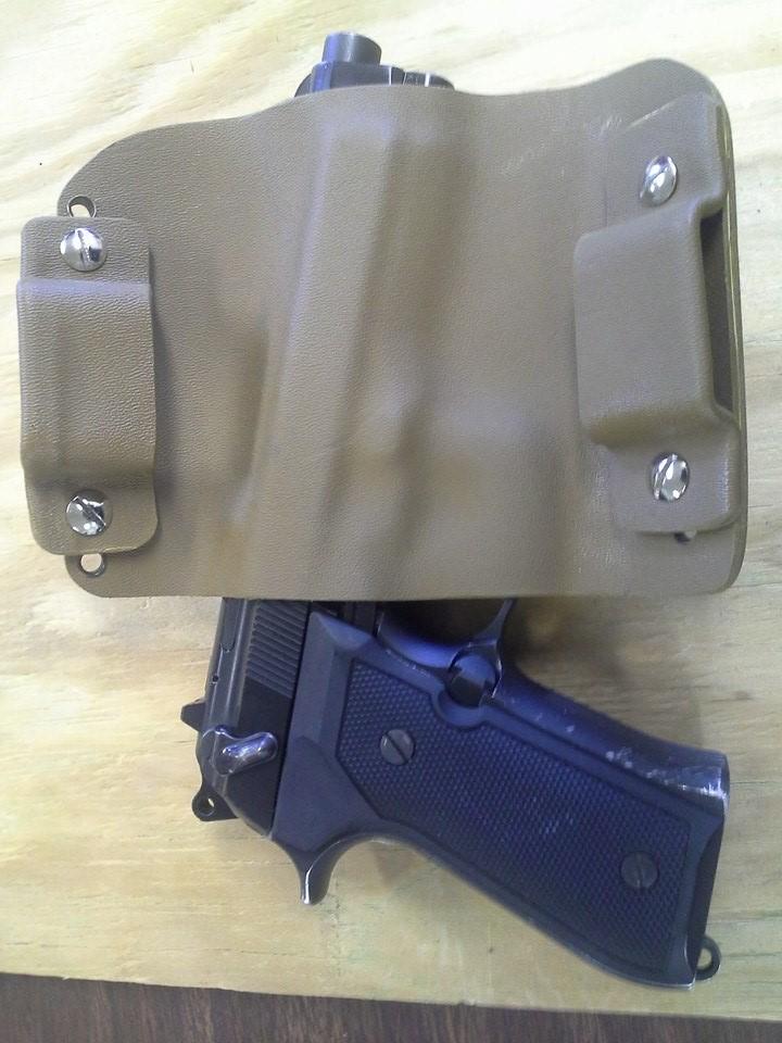Desert Tan Belt Holster for Glock 22