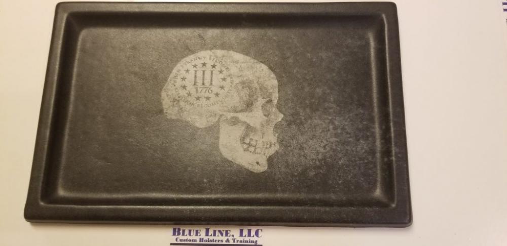 Skull pattern 3%